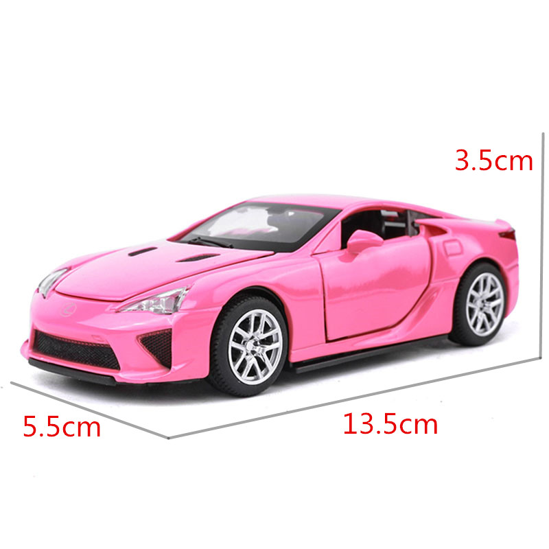 1:32 Alloy Car Model Sports Car Series Lexus LFA Metal Toys As A Boy Gift  With Openable Door Music Pull Back Function Light J YE In Diecasts U0026 Toy  Vehicles ...