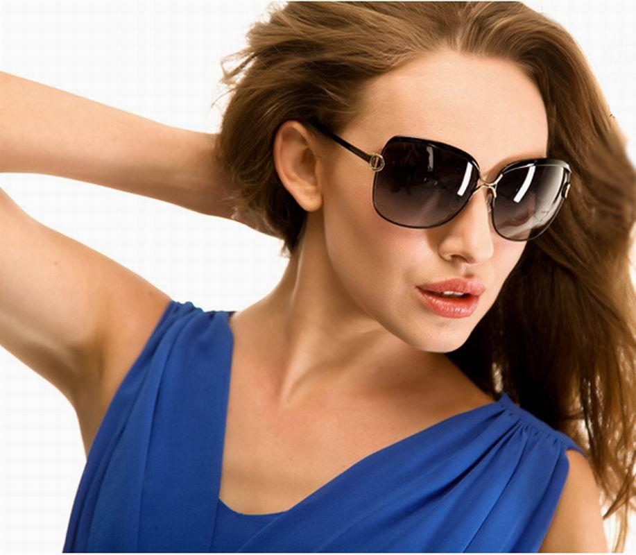 Polarized Good Quality Large Size Sunglasses Sun Glasses For Ladies No. 8702