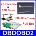 Best Match FG TECH V54 + BDM Frame Adapter FgTech V54 Galletto 4 Master ECU Chip Tuning Programmer Free Shipping