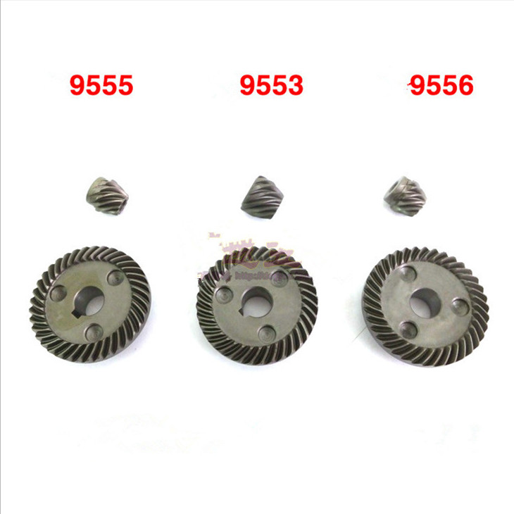 Spiral Bevel Gear Set Replacement For Makita 9553 9555 9556 9553NB 9555NB 9556NB Angle Grinder Spare Parts Power Tools