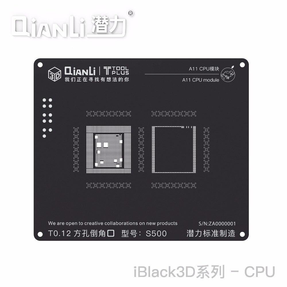 Plant, For, Black, Net, Stencil, CPU