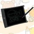 De Color negro Mesa de Dibujo Tablero de Escritura A Mano Portátil de 8.5 Pulgadas LCD de Escritura Oficina Sin Papel Tablón de anuncios Tablero de Notas Writeboard