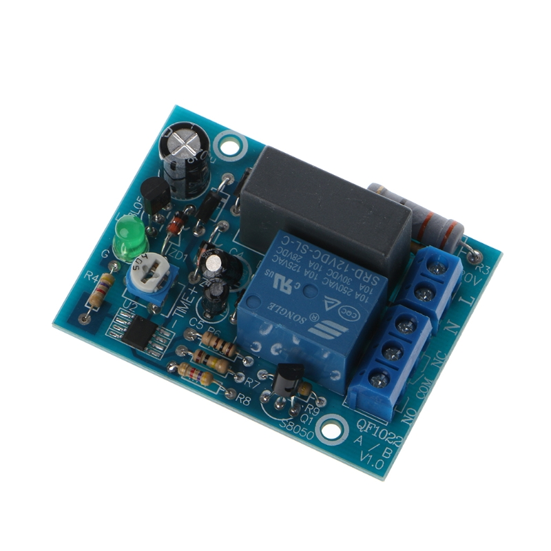 1Pc AC 220V Adjustable Timer Delay Switch Turn On/Off Time Relay Module 1pc multifunction self lock relay dc 5v plc cycle timer module delay time relay