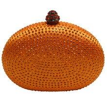 Heart oval shape popular hardcase handbags small evening font b clutches b font for wedding bridal