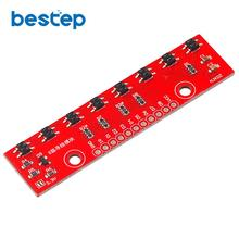 Tracking Module Infrared Detection Sensor Module DIY For Arduino 8-Channel Infrared Detector Hunt Module 8bit Sensor Module arduino infrared emitter module compatible with rpi stm32