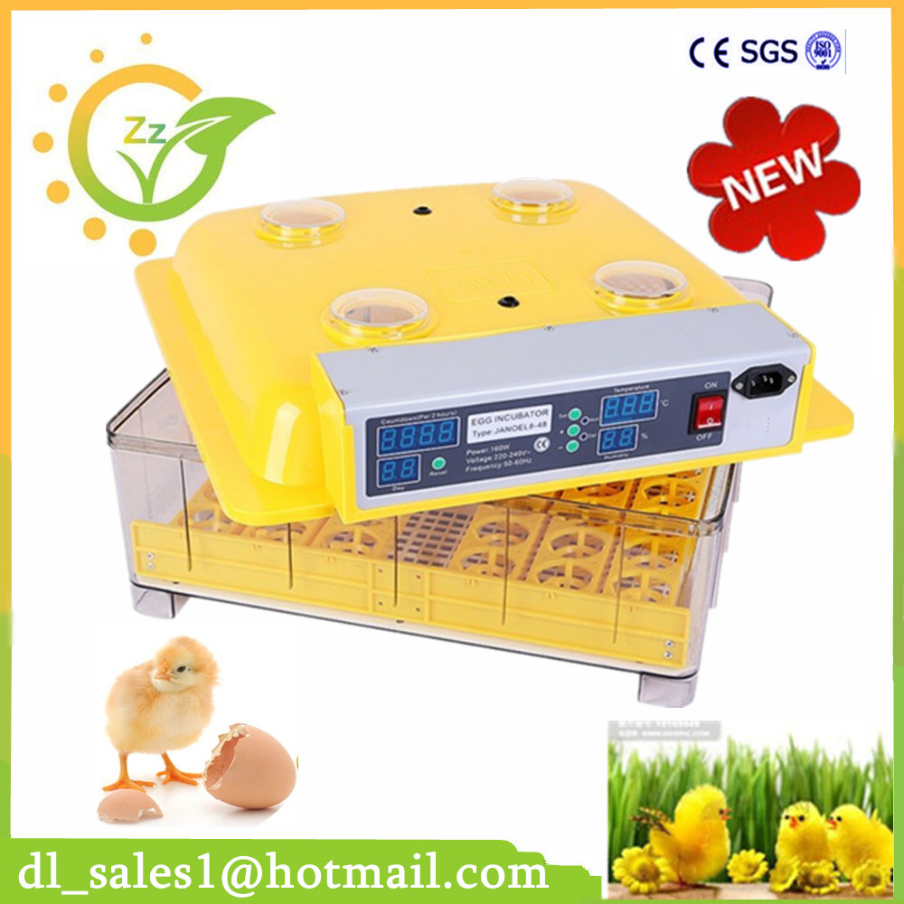 Home Use 48 Automatic Digital Humidity Temperature Egg Incubator Chicken Duck Bird Quail Thermostat Controller temperature controller digital temperature controller for incubator 48 48 70mm spg 6000