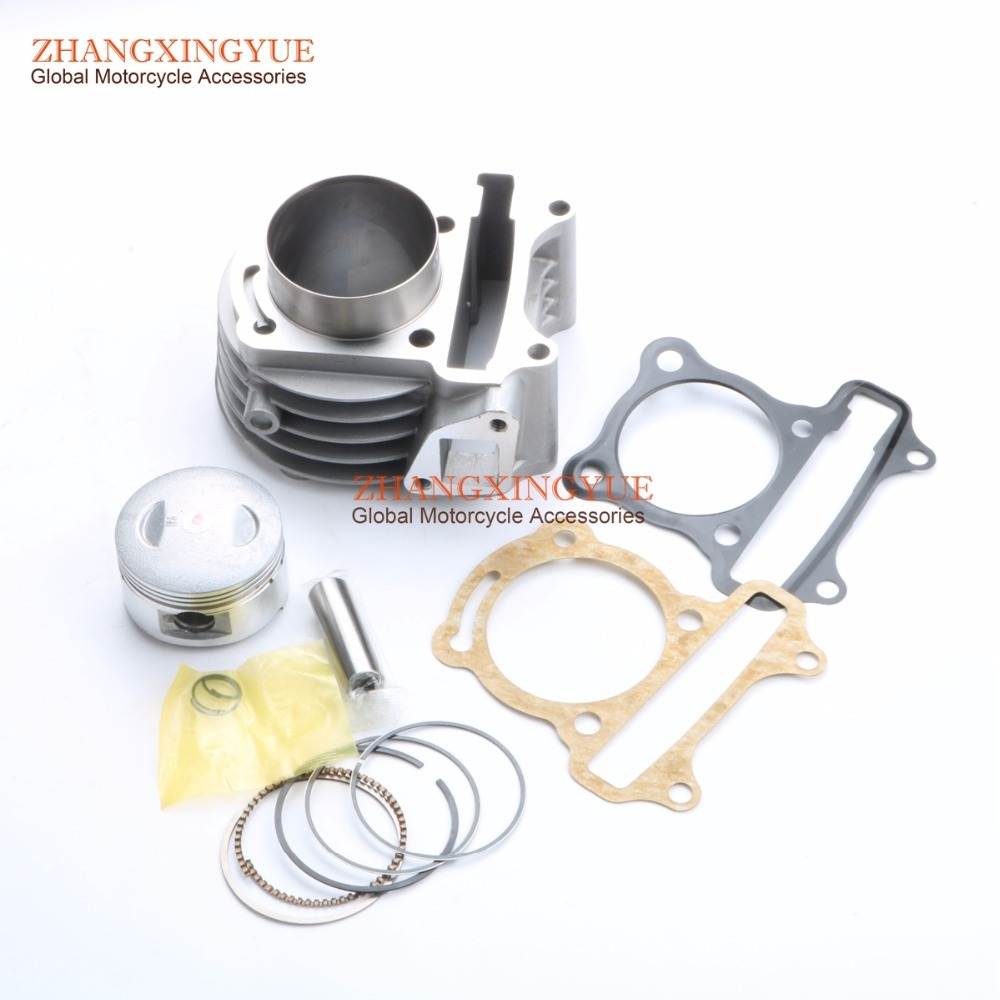 52mm 105cc Big Bore Performance Kit GY6 50cc 139QMB Chinese Scooter Parts