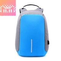 14 Inch Men USB Charging Function Laptop Backpacks School Bag Waterproof Anti Theft Backpack For Male