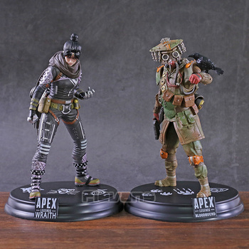 Hot Game Apex legends Wraith / Bloodhound PVC Statue Figure Collectible Model Toy 1