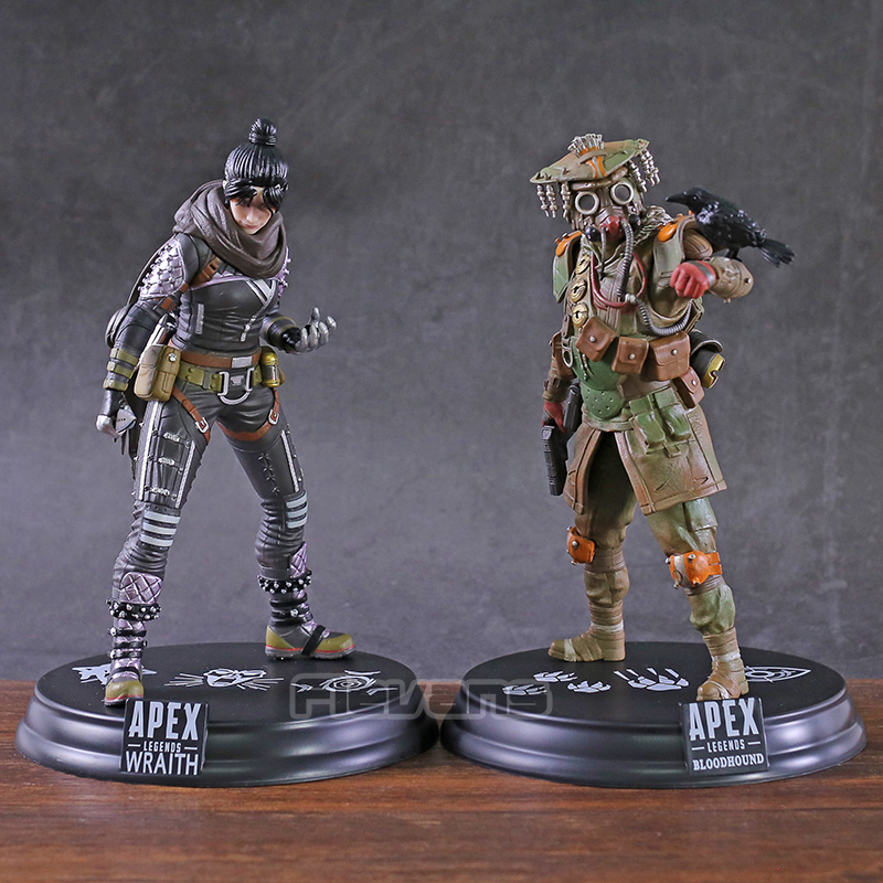 Hot Game Apex Legends Wraith / Bloodhound PVC Statue Figure Collectible Model Toy
