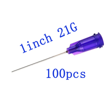Dispensing Needles with Luer Lock 21Gauge x 1Inch Length,Blunt Tip Syringe Needle 21Ga For Industrial Mixing Many Liquid,100pcs 30g dispensing needles wholesale syringe needle 0 5 inch length blunt tip screw interface 100pcs pack