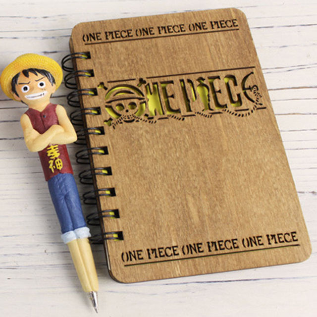 One Piece Notebook with Model Pen