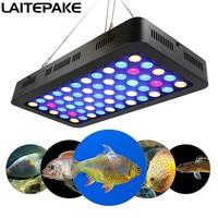 Led Aquarium Fish tank lights 165w Dimmable Free shipping for marine aquarium professional Full spectrum grow light Decoration