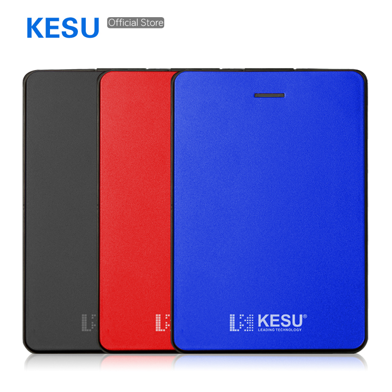 KESU External-Hard-Drive 250GB 1tb Hdd Portable Laptop/mac 2TB Usb-3.0 160GB