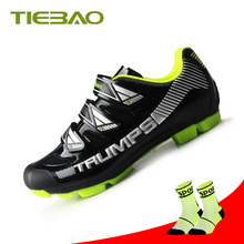 Tiebao Professional MTB Bicycle Shoes Men Bike Shoes SPD Cleat zapatillas ciclismo carretera hombre Mountain Bike shoes цена