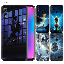 Silicone Cover untuk Huawei Honor 10 9 Lite 8X 8C 8A Y6 Y7 Y9 7A Pro Perdana 7C 2018 2019 V20 Peter Pan(China)