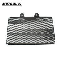 Motorcycle Black Radiator Grille Guard Cover Protector CNC Cover For KTM DUKE390 DUKE 390 2017 2018 Year
