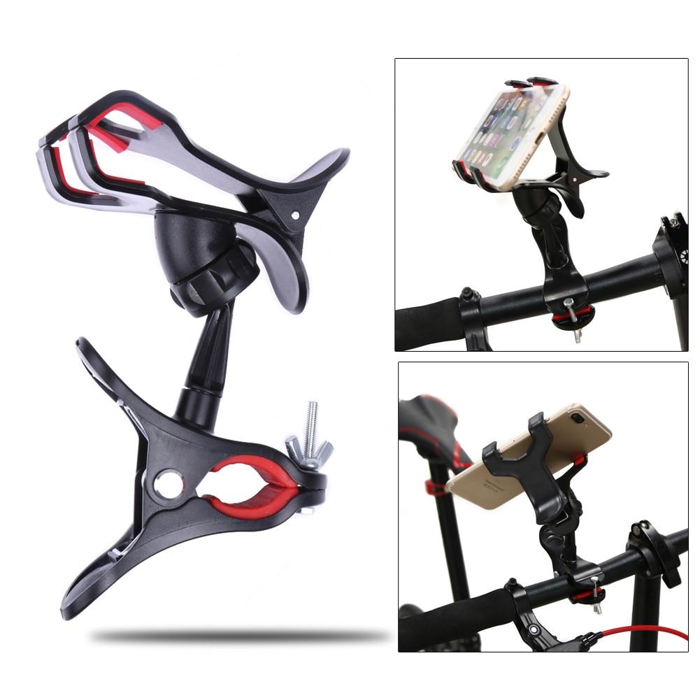 Soporte para Teléfono Universal 360 Rotating bici de La Bicicleta Del Manillar C