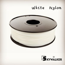 Color Natural nylon filamento impresora 3d material de 1.75mm 3mm 3d filamento filamento de nylon PA