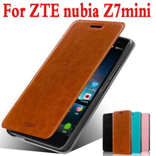 Original Mofi 2015 For ZTE Nubia Z7 mini Case Cover Flip Leather Case For ZTE Nubia