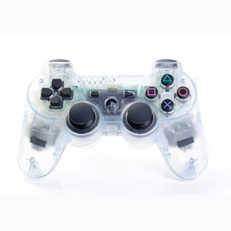 Wireless Bluetooth Transparent Color Controller For Sony