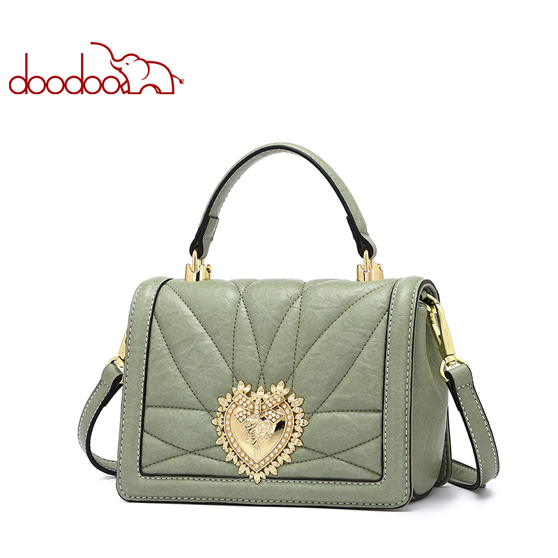 Doodoo New Women Fashion Shoulder Bag Luxury Handbags Womens Bags Designer High Quality 2018 Messenger Crossbody