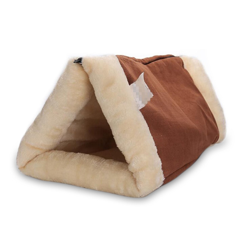 Fine Joy Portable 2 In 1 Cat Dog Pet Mat Cat House Beds Pet Products Washable Warm Sleeping Bed Kennel 90*57cm Solid Bed Mats