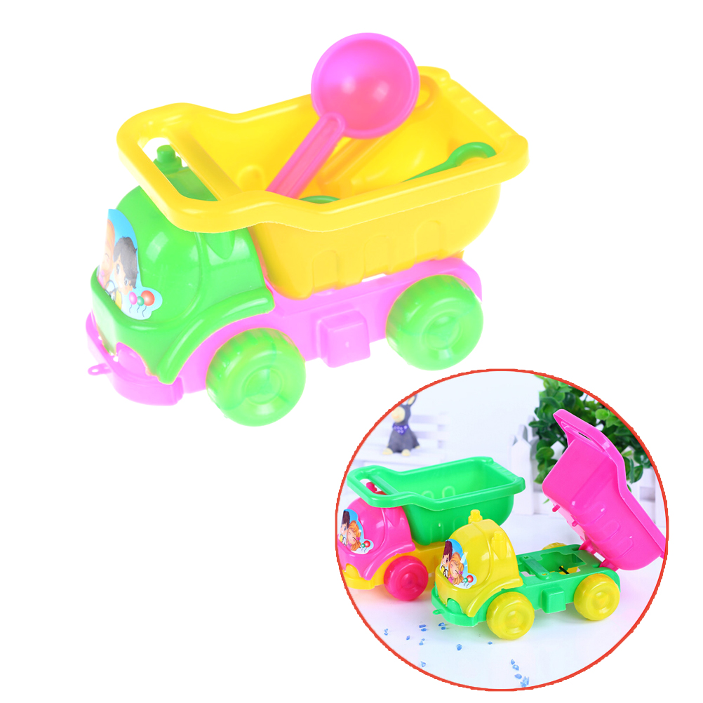 Bath Toy Toys & Hobbies Ambitious Creative Children Kids Beach Playing Truck Sand Dredging Toy Set Playing Toy Best Gift For Kids Children 14cm*8cm Possessing Chinese Flavors