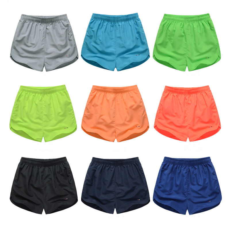 Summer Unisex Beach Shorts Men Quick Dry Board Shorts Couple Solid Swimming Surf Shorts High Elastic Waist Shorts Plus Size