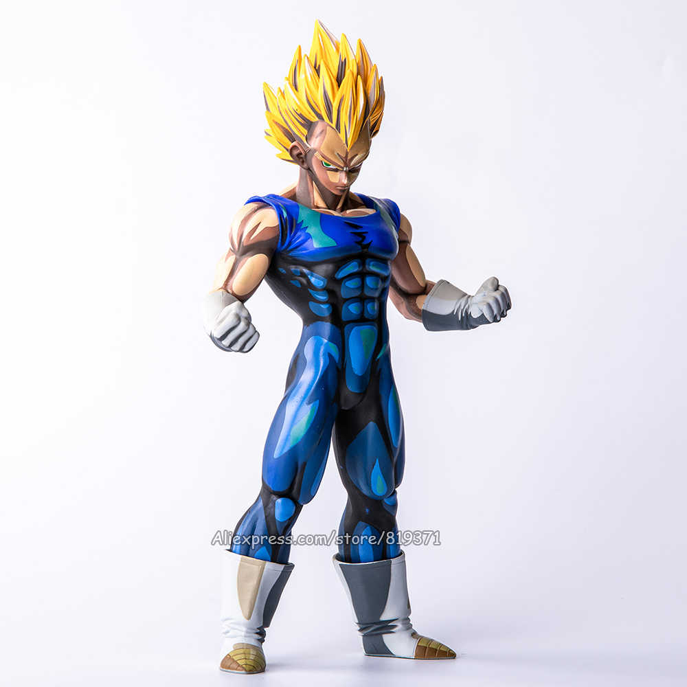 Tamanho grande Especial Anime Pintura Cor 26 CM DragonBall Dragon Ball Z Super Saiyan Vegeta PVC Action Figure Model Collection brinquedos