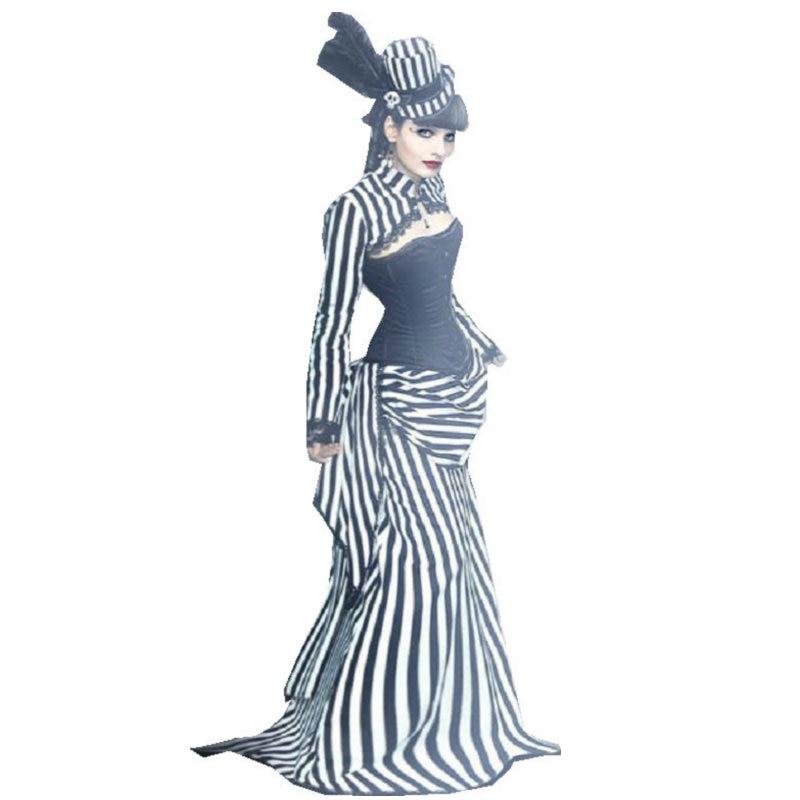 Cliente-hecho! 17 siglo trajes de la vendimia Steampunk Vestidos ...