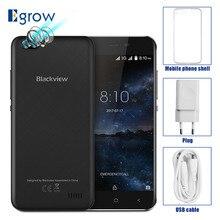 Купить онлайн Оригинал Blackview A7 двойной камеры заднего mt6580a 4 ядра android 7.0 мобильный телефон 5.0 «сотовых телефонов 1 г Оперативная память 8 г Встроенная память смартфона