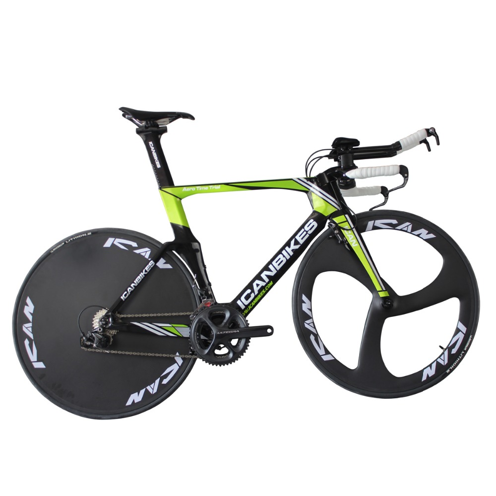 ican hidden cable carbon time trail bike carbon completed bike TT bicycle