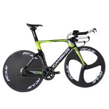 maglie 2016 ican hidden cable carbon time trail bike completed bicicleta TT bicycle 9.11kg ULTEGRA 3 Spoke wheels +disc wheels