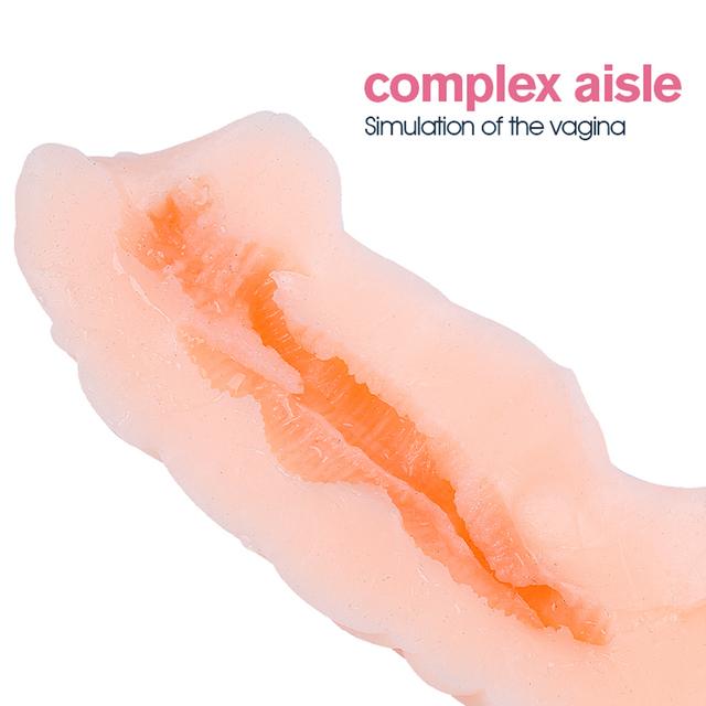 Pocket pussy real vagina sex toys for men