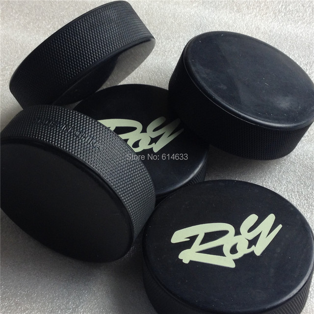 Ice hockey washer puck international standard hockey pucks made of rubber size at 3*1 inch training washer 165+/-5g