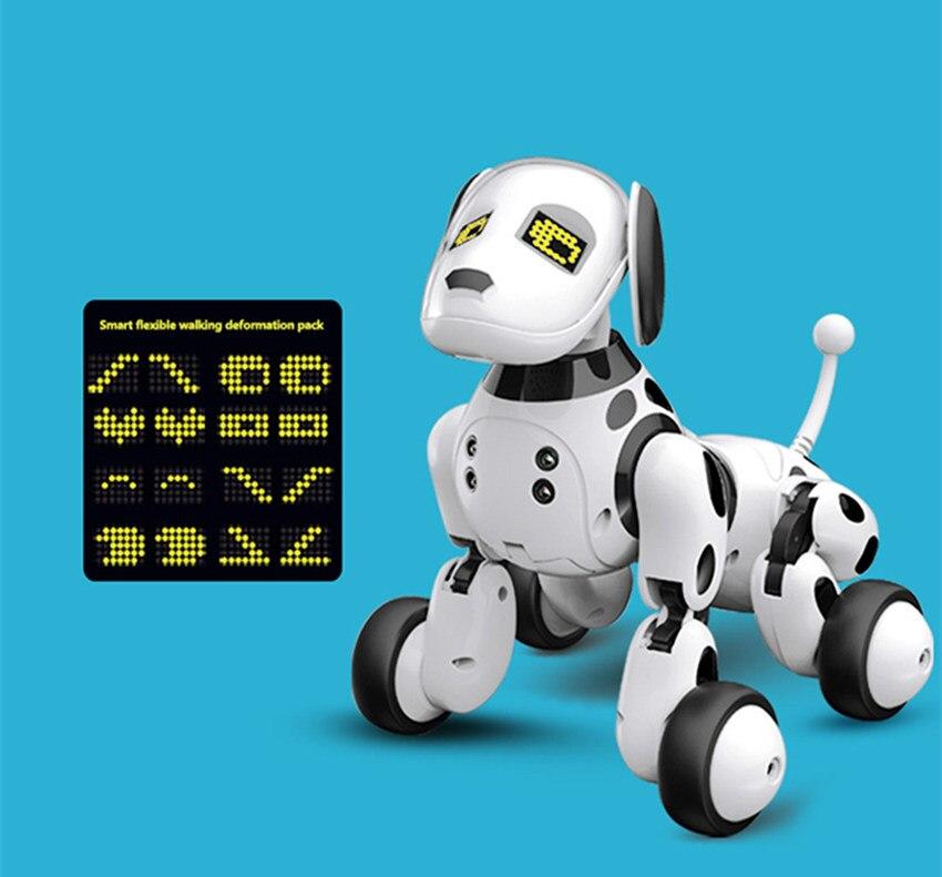 Nouveau programmable 2.4G télécommande sans fil Smart Robot chien enfants jouet Intelligent parlant Robot chien jouet électronique Pet kid cadeau - 6