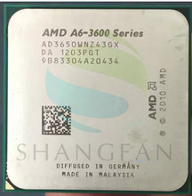 AMD A6 3600 A6 3650 A6 3650 2 6GHz 100W Quad Core CPU Processor AD3650WNZ43GX Socket