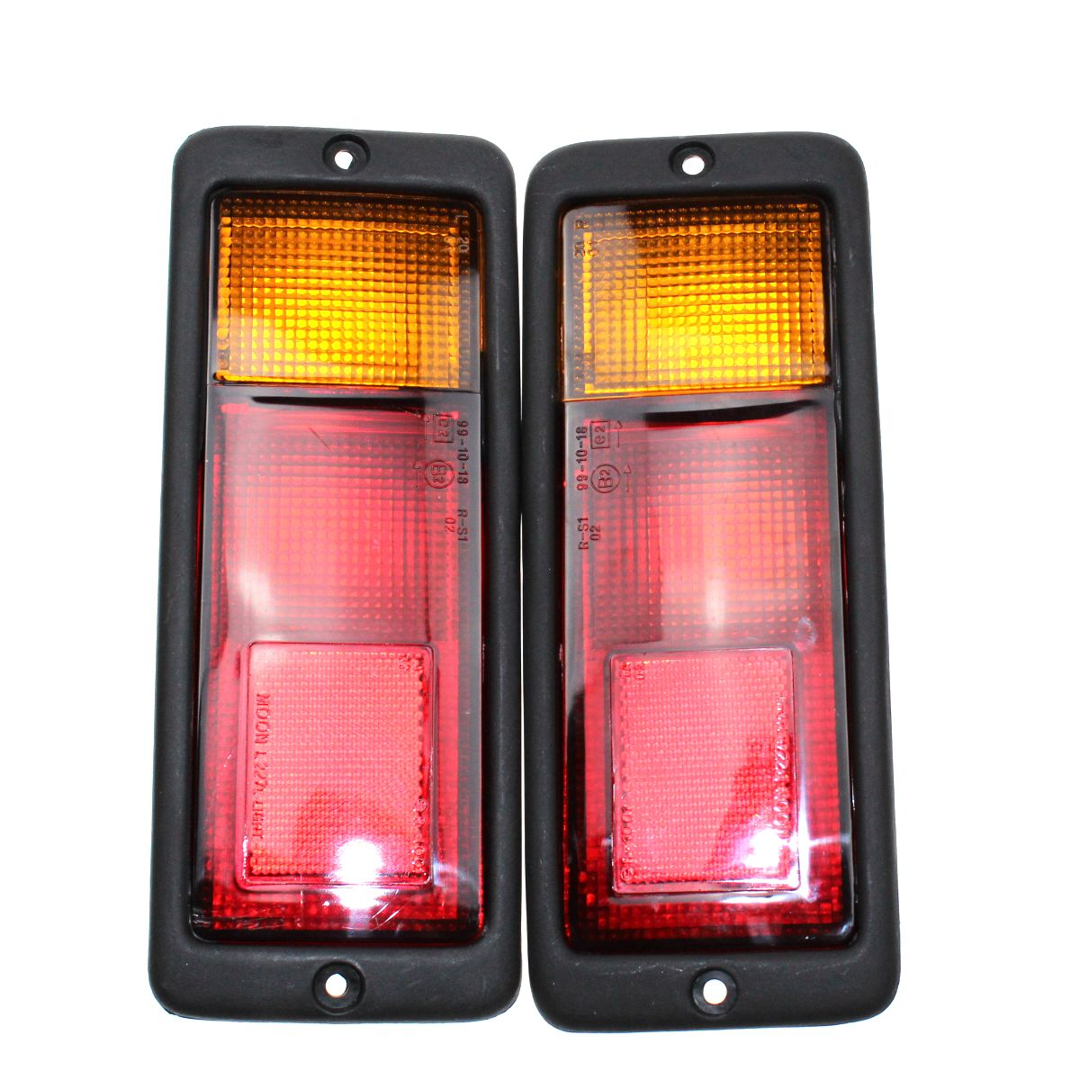LARBLL Pair New Tail Rear Light Lamp Set Kit LH+RH For Mitsubishi Pajero MONTERO Shogun 91-03 MR124963FC MR124964FC 1 pair lh