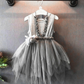 New Flower Girls Toddler Princess Party Pageant Dresses  2016 Hot Sale