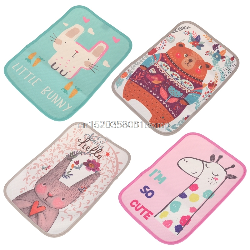 Baby Changing Pad Reusable Waterproof Stroller Diaper Portable Mattress Cartoon  J26 Drop shipping