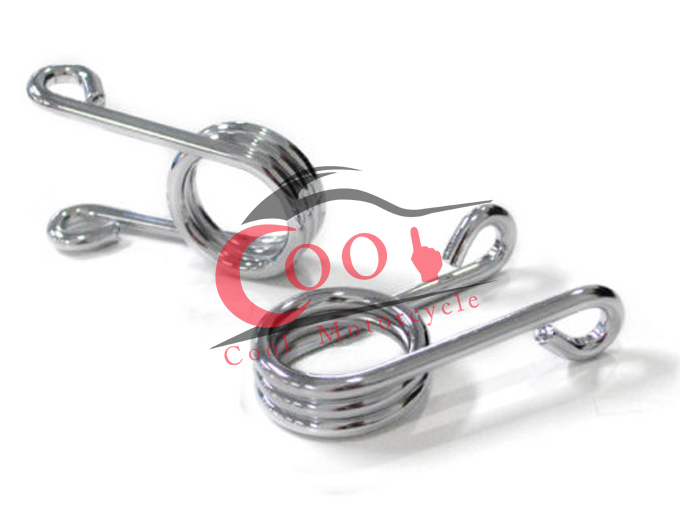 """2/"""" Pair Torsion Springs Chrome Solo Seat Hairpin Springs for Harley /& Custom"""