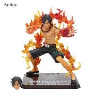 Anime One Piece ZERO Portgas D Ace PVC Action Figure Model Collection Toy 14CM