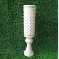 Wedding Rome column road styled plastic Vase ornament wedding supplies road European style vase wholesale,Trumpet vase