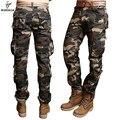 Weonedream boa qualidade militar tático camuflagem carga calças compridas dos homens quentes dos homens calças de algodão 3 cores tamanho 29-40