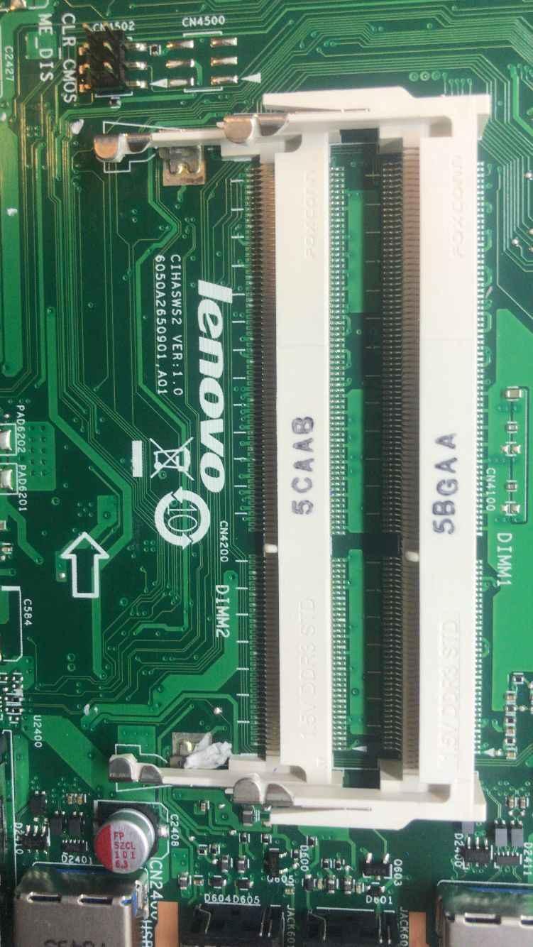 ¡6050A2650901! a01 se aplica a Lenovo C4030 S4030 C40-30 todo-en-uno de la placa base del ordenador 5B20J67499 CPU i3 5010U prueba 100% trabajo