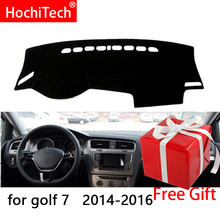 Для Volkswagen Golf 7 MK7 2013-2018 правая и левая рука Драйв приборной панели автомобиля охватывает Мат Подушка тени Pad ковры аксессуары