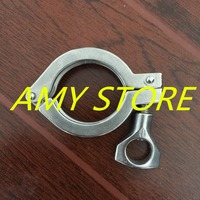 1 5 Tri Clamp Clover Sanitary Fits 50 5MM OD Ferrule Flange Stainless Steel 304