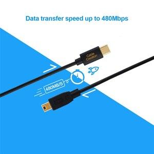 Image 4 - Mini USB naar USB C Kabel, USB C naar Mini B Cord voor GoPro Hero 3 +, PS3 Controller & Mini B Apparaten
