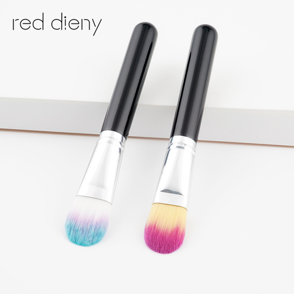 1 PCS Pro Large Diffuser Brush with Soft Natural Bristles Makeup Brush Pen Blending Uniform Blusher Duo Fiber Stippling Brush